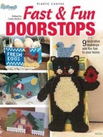 Plastic Canvas Fast and Fun Doorstops Pattern