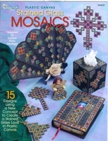 Plastic Canvas Stained Glass Mosaics Pattern Book