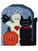 Plastic Canvas Tombstone Halloween Kit