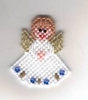 Rosebud Angel Ornament - Christmas Gift Idea