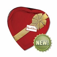 Russell Stover Assorted Chocolates In A Heart Shaped Box 14 oz