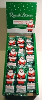 Russell Stover Chocolate Covered Marshmallow Santa
