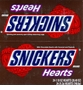 Snickers Hearts