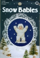 Snow Babies It's Snowing  Cross Stitch Kit
