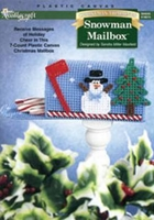 Snowman Mailbox Plastic Canvas Kit