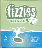 Sour Apple Fizzies