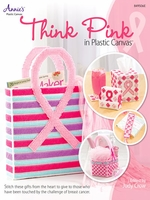 Think Pink Plastic Canvas Pattern Book