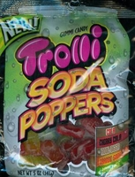 Trolli  Gummy Soda Poppers