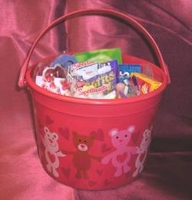 Valentine Candy Bucket
