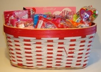 Valentine Candy Gift Basket  - Large