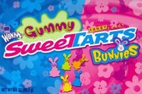 Wonka Sweet Tart Gummy Bunnies