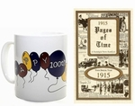1915 Trivia Booklet - 100th Birthday Book & Mug Combo