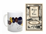 1916 Trivia Booklet - 100th Birthday Book & Mug
