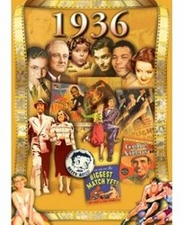 1936 or 1937 DVD