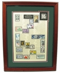 1965 Stamp Art - SAVE 50%!