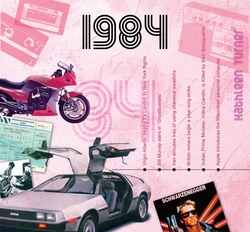 1984 Music for 30th Birthday