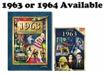 50th Birthday Book & DVD for 1963 or 1964