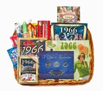 50th Birthday Gift Basket for 1966