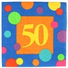 50th Birthday Napkins