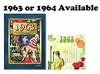 50th Birthday Presents: Book & Music CD Set for 1963 or 1964