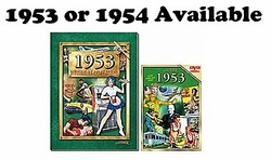 60th Birthday Combo: Book and DVD for 1953 or 1954