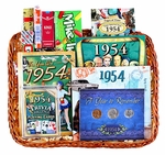 60th Birthday Gift Basket