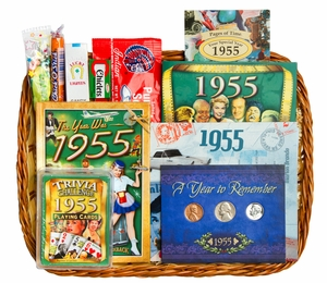 60th Birthday Gift Basket Ideas