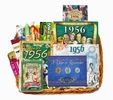60th Birthday Gift Basket for 1956 with Coins