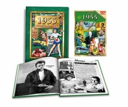 60th Birthday Combo: Book and DVD for 1955 or 1956