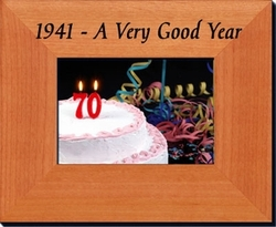 75th Birthday Idea - 1941 or 1942 Frame