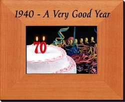 75th Birthday Idea - 1940 Frame