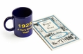 90th Birthday Book for 1925 & 90th 1925 Mug