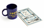 90th Birthday 1925 Mug & Book Combo