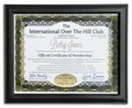 Personalized Over the Hill Club Print