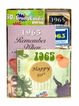 Personalized 50th Birthday Time Capsule