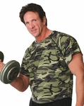 Camouflage Bodybuilding Rag Top