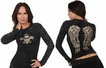 Fancy  Fleur-Di-Lis Long Sleeve