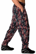 Flaming Dragon Workout Baggy Pant