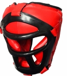 Combat Sparring Headgear with Cage