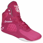 Womens Limited Edition Stingray Pink Bodybuilding Boxing Shoes
