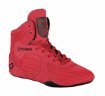 Red Bodybuilding weightlifting Shoe