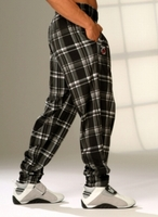 Plaid Muscle Baggy Pant