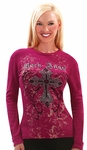 Rock Angel Rhinestone Thermal