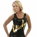 Sequin Lovely Tank Top