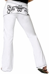 Tribal White Pant Final Sale