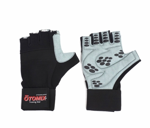 Deluxe Weight Lifting Gloves  with wrist wrap!