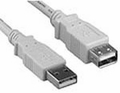 Battleborn 10 ft USB 2.0 M-to-F USB Extension Cable (BEIGE)