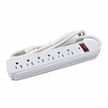 [LIMIT 3] 6-Outlet 180 Joules 125V Power Strip Surge Protector