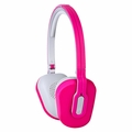 Altec Lansing MZX662PINK Inline Control Wired Headphones