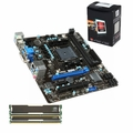 AMD A6-5400K Bundle with 8GB RAM, Motherboard & Dual Core CPU